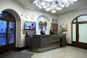 Лобби или стойка регистрации в Отель Центр