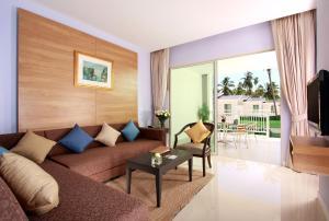 Istumisnurk majutusasutuses Kantary Beach Hotel Villas & Suites