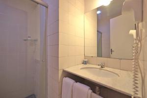 Um banheiro em Hotel Pousada São Francisco