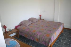 Cama ou camas em um quarto em océan studio
