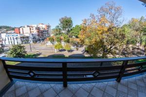 Uma varanda ou terraço em Via Genova Parque Hotel