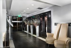 The lobby or reception area at Areos