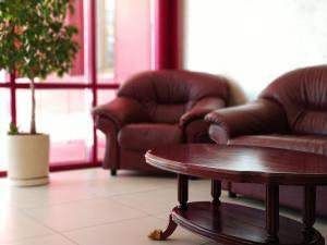 Гостиная зона в Отель «Корона»