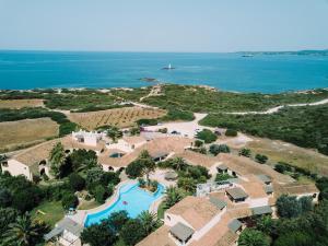 A bird's-eye view of Hotel Luci Del Faro