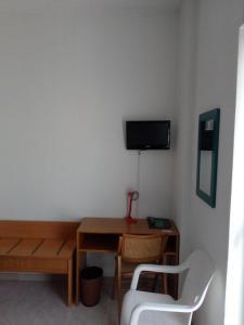 TV o dispositivi per l'intrattenimento presso Hotel Torre