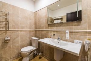 Ванная комната в Гостиничный Комплекс Парк - Отель Пушкин