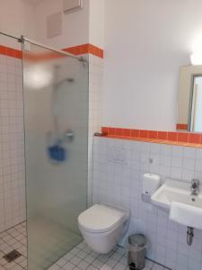 Ванная комната в Naturfreundehaus Bodensee