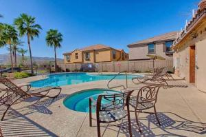 The swimming pool at or near South Mountain Phoenix