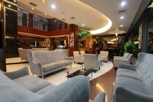 The lounge or bar area at Grand Hatika Hotel