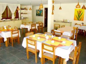 Um restaurante ou outro lugar para comer em Hotel Pousada São Francisco