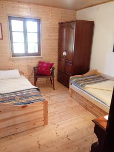 A bed or beds in a room at Villa Sandra
