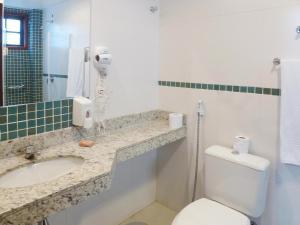 Um banheiro em Pousada Ancoradouro
