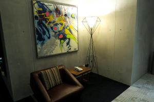 A seating area at Le Dream Boutique Hotel