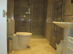 A bathroom at Weston Manor