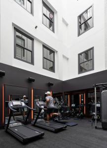 The fitness center and/or fitness facilities at 21c Museum Hotel Kansas City