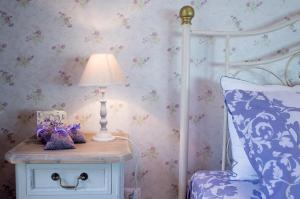 A bathroom at THE HOUSE OF LAVENDER
