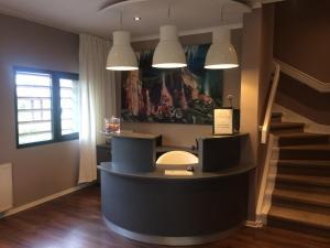 Lobby alebo recepcia v ubytovaní Penzion na letisku - areál SKY PARK