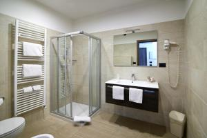 A bathroom at Hotel Le Balze - Aktiv & Wellness