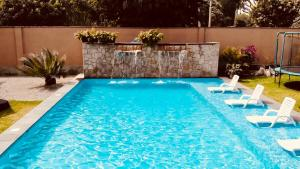 The swimming pool at or close to Hotel Campo & Leña