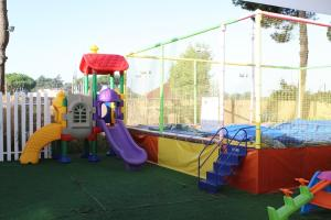 Children's play area at Hotel Ristorante Meson Feliz