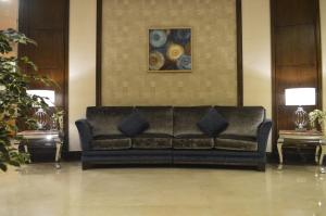 Uma área de estar em Coral Al Ahsa Hotel