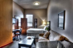 Гостиная зона в Podollan Inn & Spa - Grande Prairie