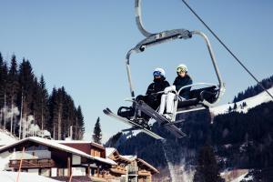 Biohotel Bergzeit im Winter