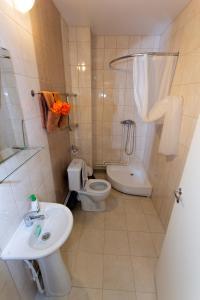 Ванная комната в Отель Сталагмит