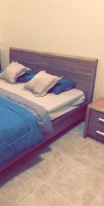 Cama ou camas em um quarto em Chalet Laura in Yanbu