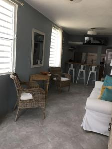A seating area at Diamond in the Rough