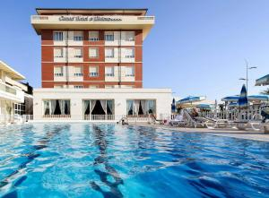 The swimming pool at or near Grand Hotel & Riviera