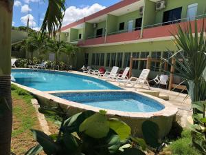 Бассейн в Hotel Guarocuya de Barahona или поблизости