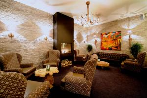 A seating area at Hotel Trix
