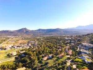 A bird's-eye view of Cala di Sole