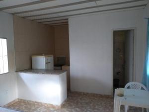 A bathroom at Pousada do Pezão
