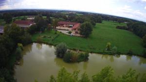 A bird's-eye view of Domaine des Charmilles