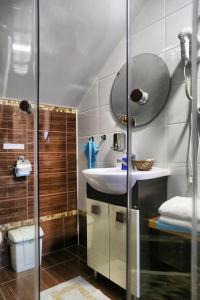 Ванная комната в Мини-Отель «Берлога-Сити»