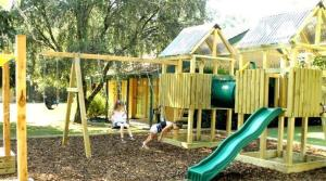 Children's play area at High Country Motor Inn Bright