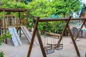 Children's play area at Pousada Barra Velha