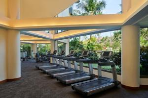 The fitness centre and/or fitness facilities at The Westin Resort Nusa Dua, Bali