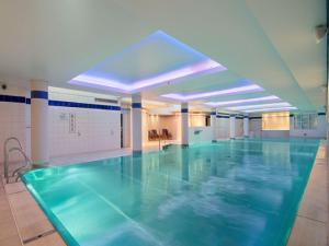 The swimming pool at or near Hilton Cardiff