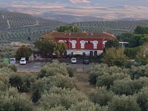 Άποψη από ψηλά του Hotel-Restaurante la Loma