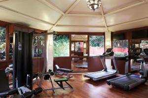 The fitness center and/or fitness facilities at Taj Ganges, Varanasi