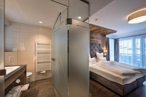 A bathroom at Hotel Eldorado