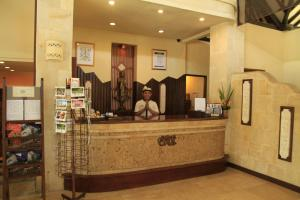 The lobby or reception area at Bali Reef Resort