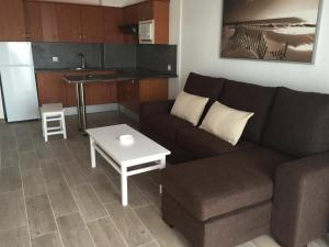 A seating area at Residencial Neptuno
