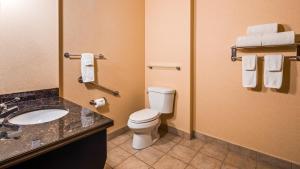 A bathroom at Best Western Plus Estevan Inn & Suites