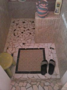 A bathroom at 33 Palms Resort