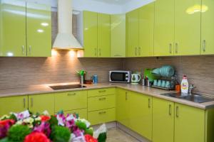 Küche/Küchenzeile in der Unterkunft Voyage Hotel & Hostel