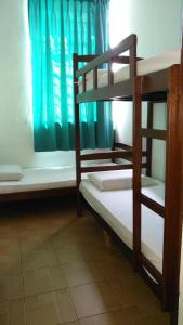 A bunk bed or bunk beds in a room at Borneo Backpackers